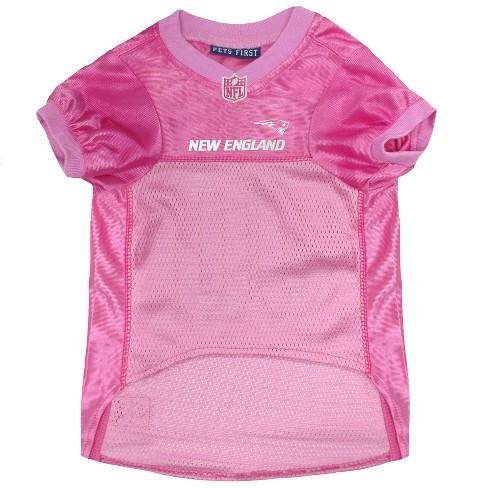 NFL Pets First Pink Pet Football Jersey - New England Patriots 5de63fd9b