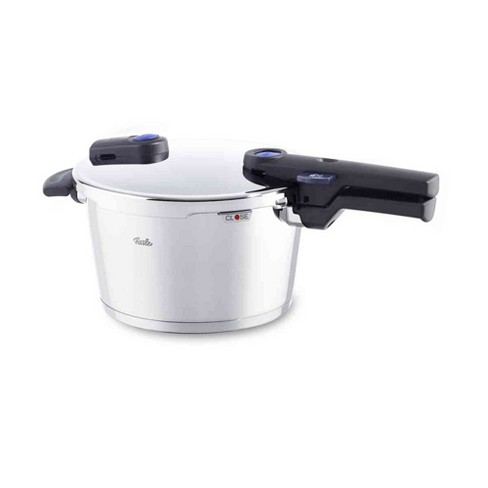 Fissler Vitaquick 8.5 Quart Stainless Steel Stove Top Steam Pressure Cooker Pot - image 1 of 5
