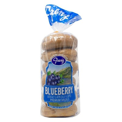 New York Bagel Boys Blueberry Bagels - 18oz/6ct