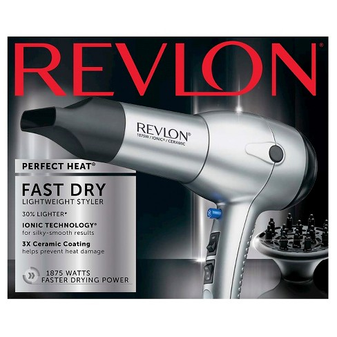 Revlon Perfect Heat Fast Dry Speed Hair Dryer - image 1 of 3