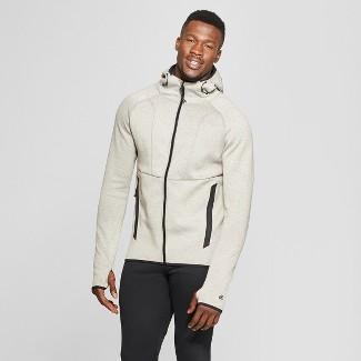 Men's Victory Fleece Full Zip - C9 Champion® Tan Heather XL