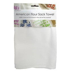 "Craft Basics 29"" x 36"" 10pk American Flour Sack Towel"