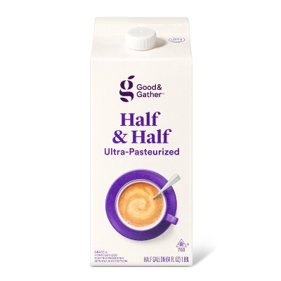 Half & Half - 0.5gal - Good & Gather™