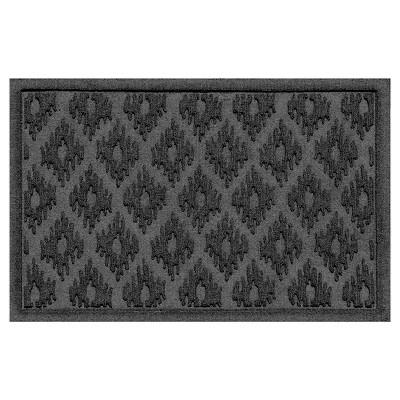 Charcoal Solid Doormat - (2'X3')- Bungalow Flooring
