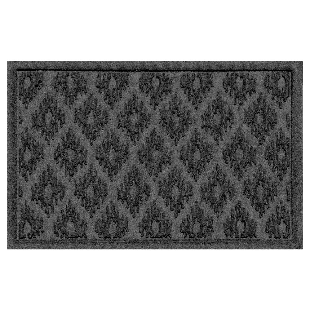Image of Charcoal (Grey) Solid Doormat - (2'X3') - Bungalow Flooring