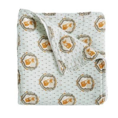 Patina Vie Muslin Blanket Fox