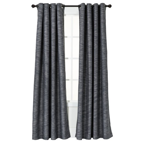 Uptown Striped Light Blocking Curtain Panel - Threshold™ - image 1 of 2