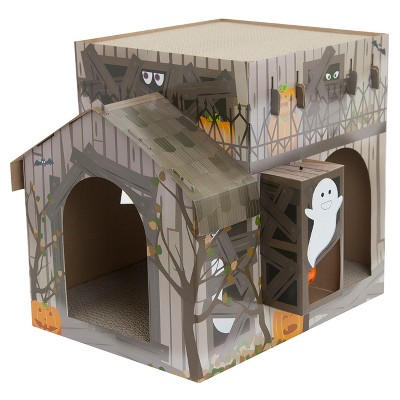 Cat Scratch   Haunted House   Brown  Large   Hyde & Eek! Boutique by Haunted House