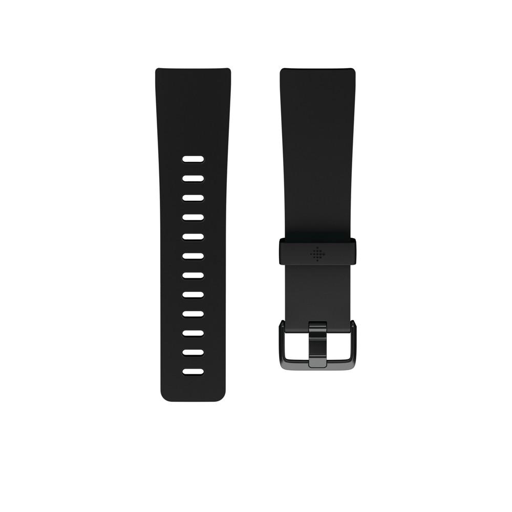 Fitbit Versa Fitness Tracker Band Large - Black
