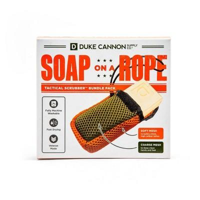 Duke Cannon Tactical Soap on a Rope + Bourbon Bar Soap - 1oz