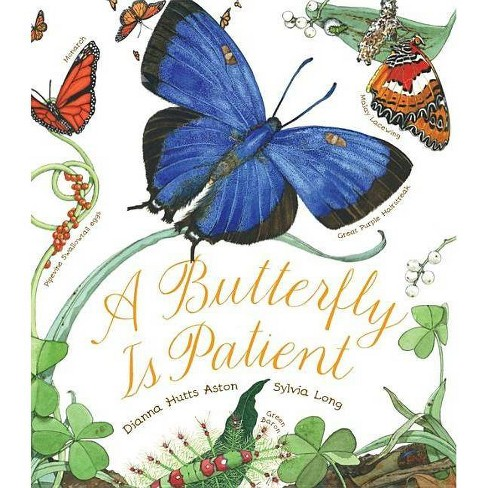 A Butterfly Is Patient - by  Dianna Hutts Aston (Hardcover) - image 1 of 1