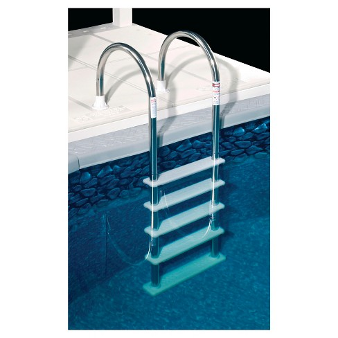 Standard Stainless Steel In-Pool Ladder For Above Ground Pools : Target