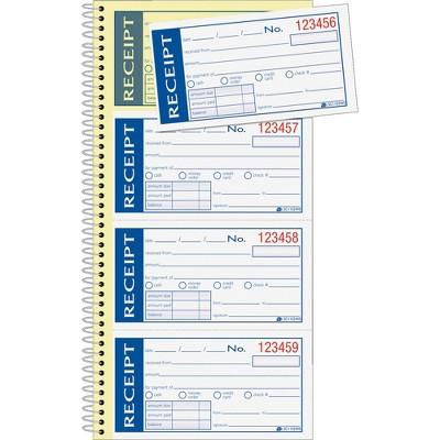 "Adams Write N' Stick Receipt Book 2-Part 5-1/4""x11"" SC1152WS"