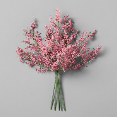 Astilbe Flower Bundle Pink (16 )- Hearth & Hand™ with Magnolia