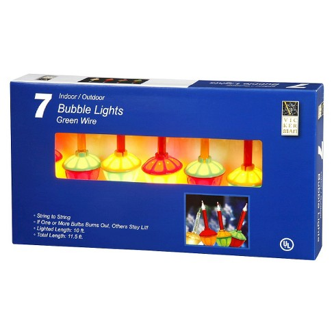 7ct Bubble C7 String Light Set - Multicolored Lights - image 1 of 1