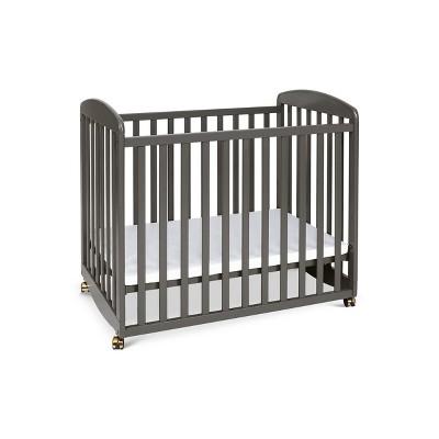 DaVinci Alpha Mini Rocking Crib - Slate