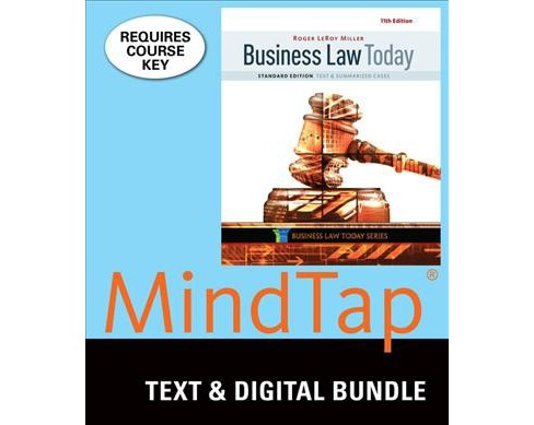 Business Law Today, Standard + Lms Integ (Mixed media product) - image 1 of 1