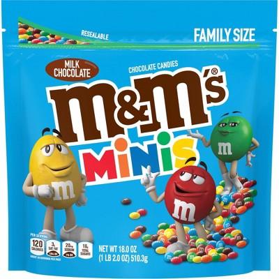 M&M's Milk Chocolate Minis Family SUP - 18oz