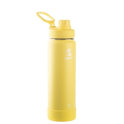 Takeya 24oz Actives Insulated Stainless Steel Water Bottle with Spout Lid