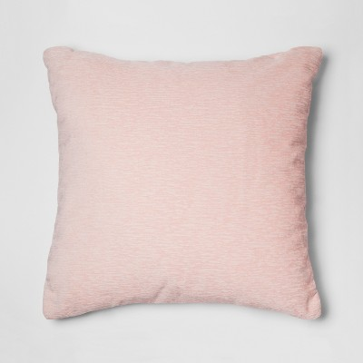 Pink Chenille Oversize Square Throw Pillow - Threshold™