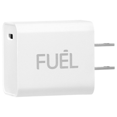 FUEL x Case-Mate - 20W USB-C PD Rapid Charger - Power Adapter - White