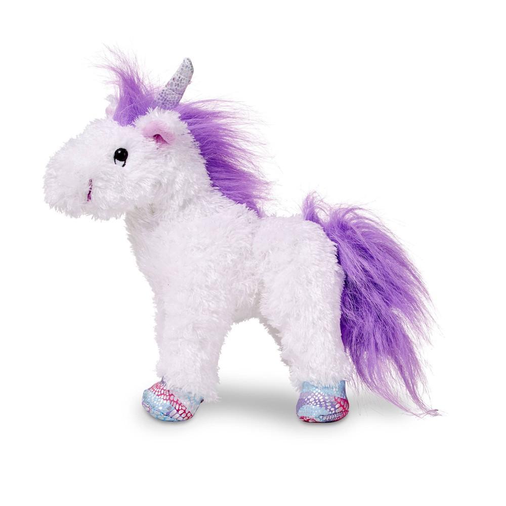 Melissa 38 Doug Misty Unicorn Stuffed Animal