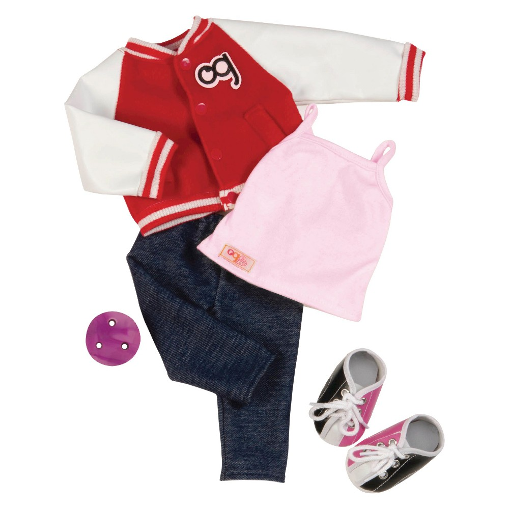 Our Generation Deluxe Retro Outfit For 18 Dolls Gotta Bowl