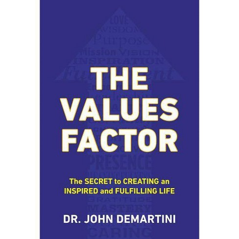 The Values Factor - by  John F Demartini (Paperback) - image 1 of 1