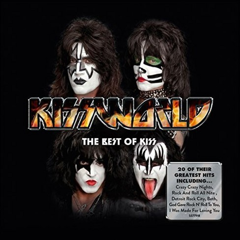 Kiss - Kissworld:Best Of Kiss (CD) - image 1 of 1