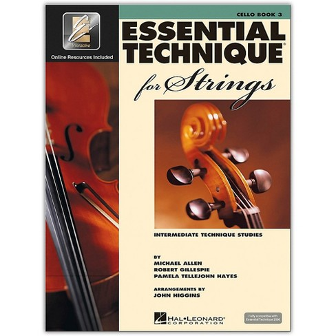 Hal Leonard Essential Technique for Strings - Cello 3 Book/Online Audio - image 1 of 1