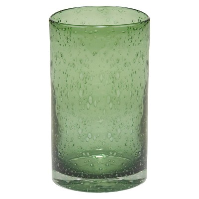 Artland 17oz 4pk Iris Highball Glasses Green