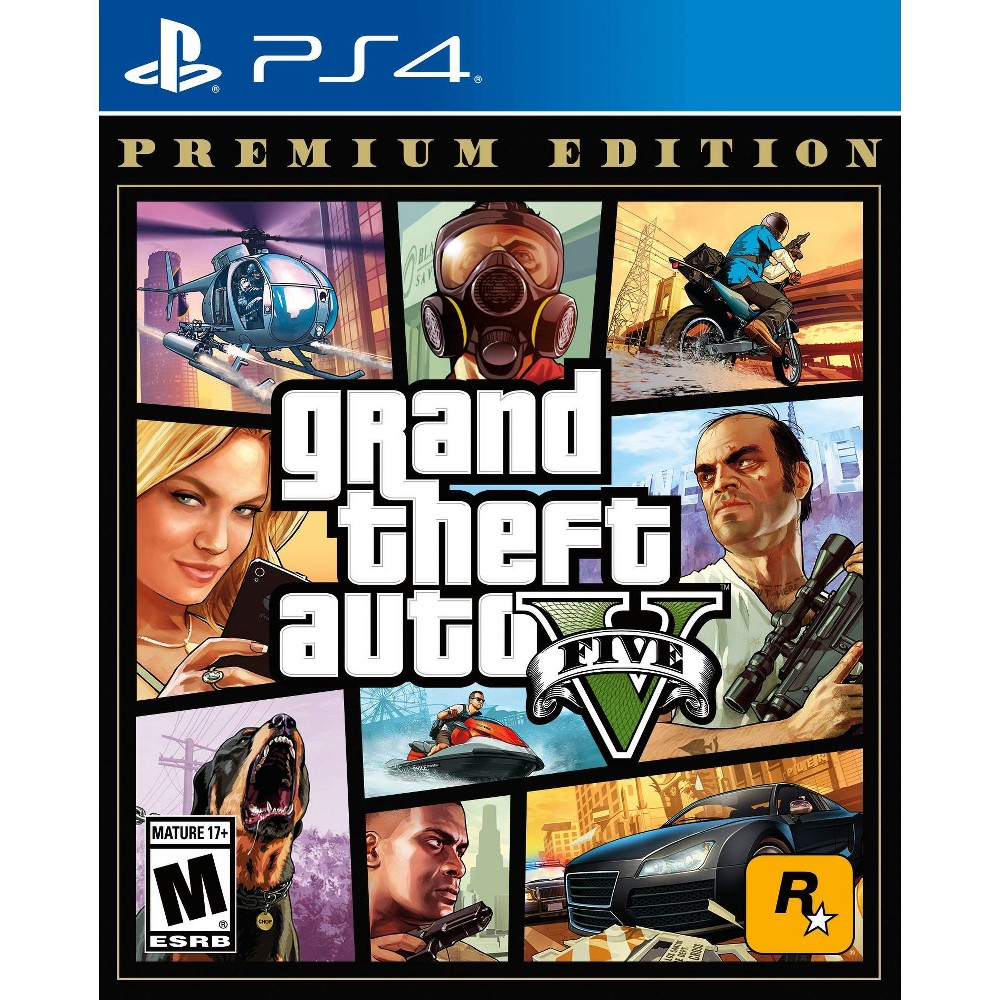 Grand Theft Auto V: Premium Edition - PlayStation 4 was $29.99 now $19.99 (33.0% off)