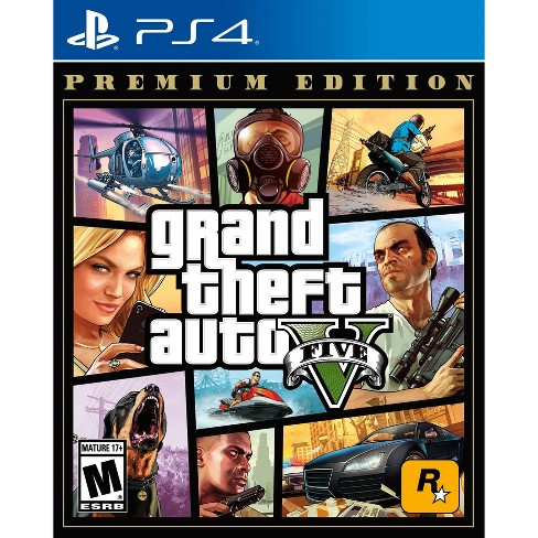 Grand Theft Auto V Premium Edition Playstation 4 Target