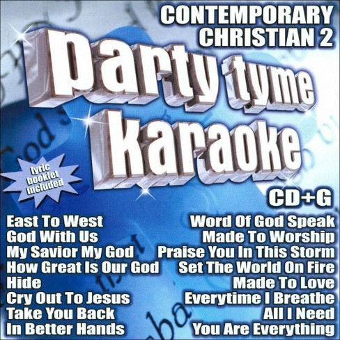 Party tyme karaoke - Contemporary christian 2 (CD) - image 1 of 1
