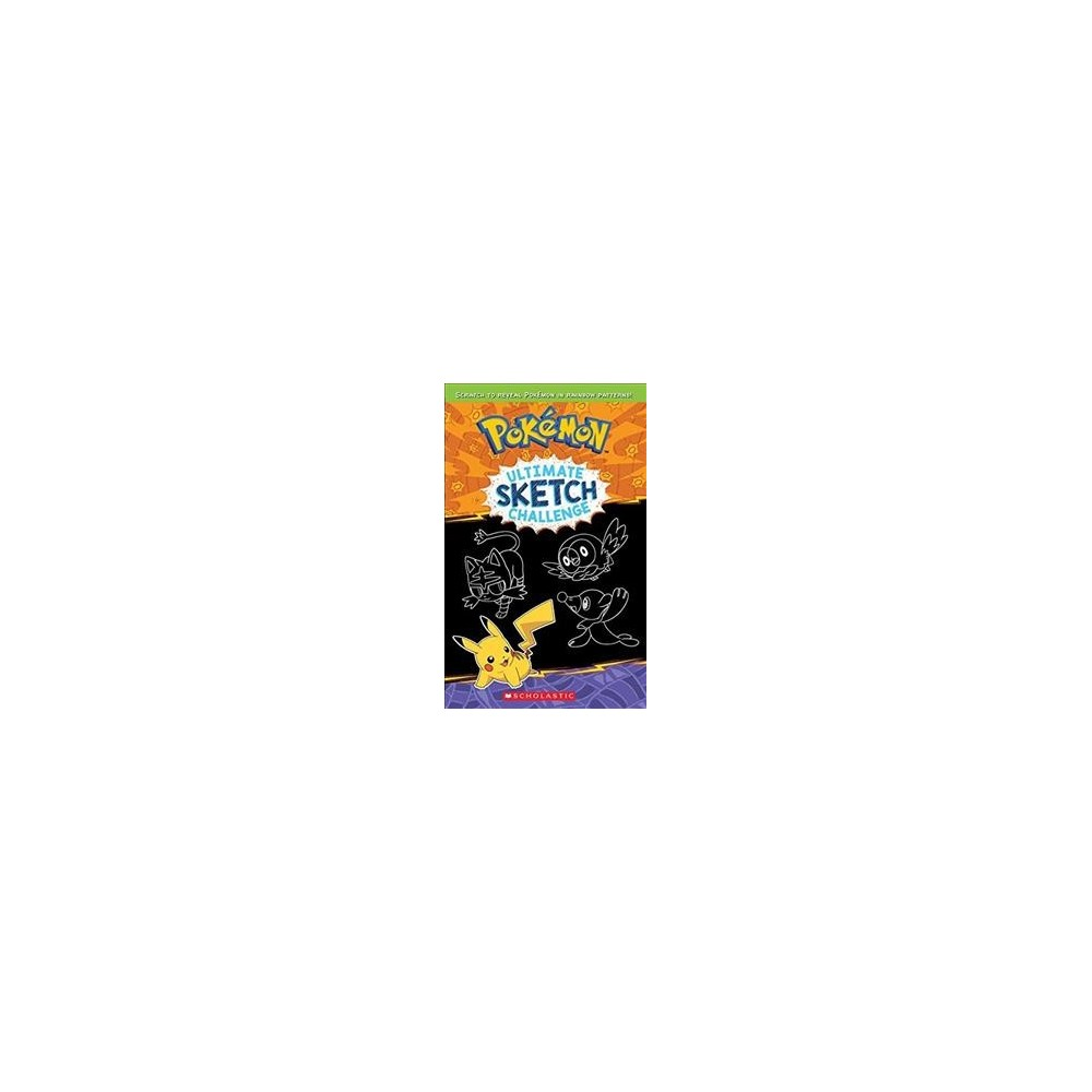 Pokemon Ultimate Sketch Challenge - (Pokemon) (Hardcover) Pokemon Ultimate Sketch Challenge - (Pokemon) (Hardcover)