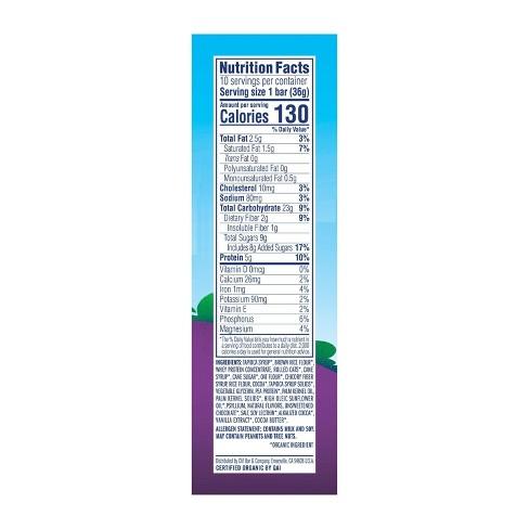 CLIF Kid ZBAR Protein Chocolate Chip Snack Bars - 10ct