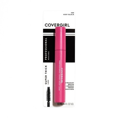 Mascara & Lashes: Covergirl Professional Super Thick Lash Waterproof