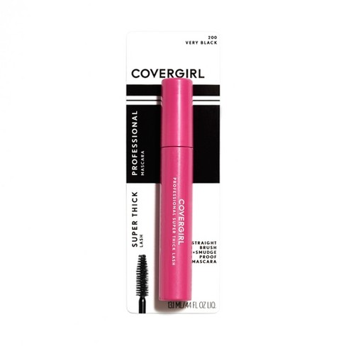 COVERGIRL Professional Super Thick Lash Waterproof Mascara 200 Very Black - 0.3 fl oz - image 1 of 5