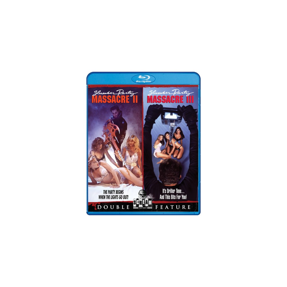 Slumber Party Massacre Ii/Slumber Par (Blu-ray)