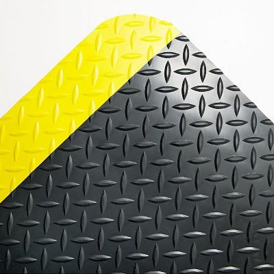2'x3' Rectangle Floor Mats Black - Crown