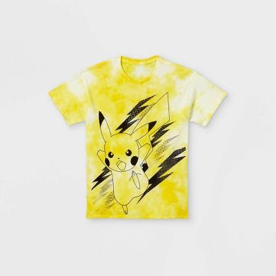 Boys' Pokemon Pika Short Sleeve Graphic T-Shirt - Yellow