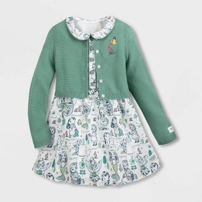 Girls' Disney Animator Dress - White - Disney Store