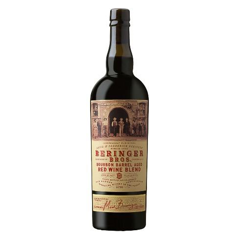 Beringer Brothers Bourbon Barrel Red Blend Red Wine - 750ml Bottle - image 1 of 1