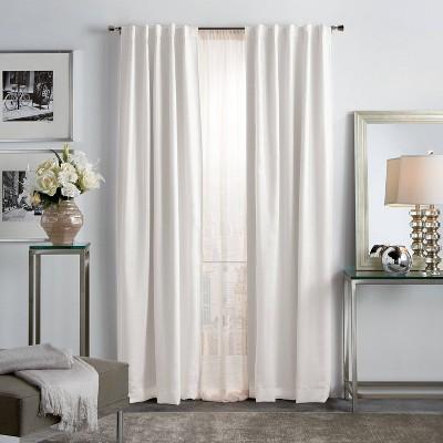 Set of 2 Park Avenue Metallic Blackout Curtain Panels - Martha Stewart