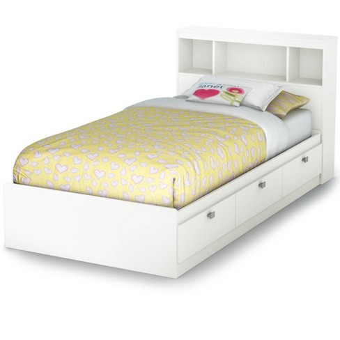 Twin Spark Storage Bed And Bookcase