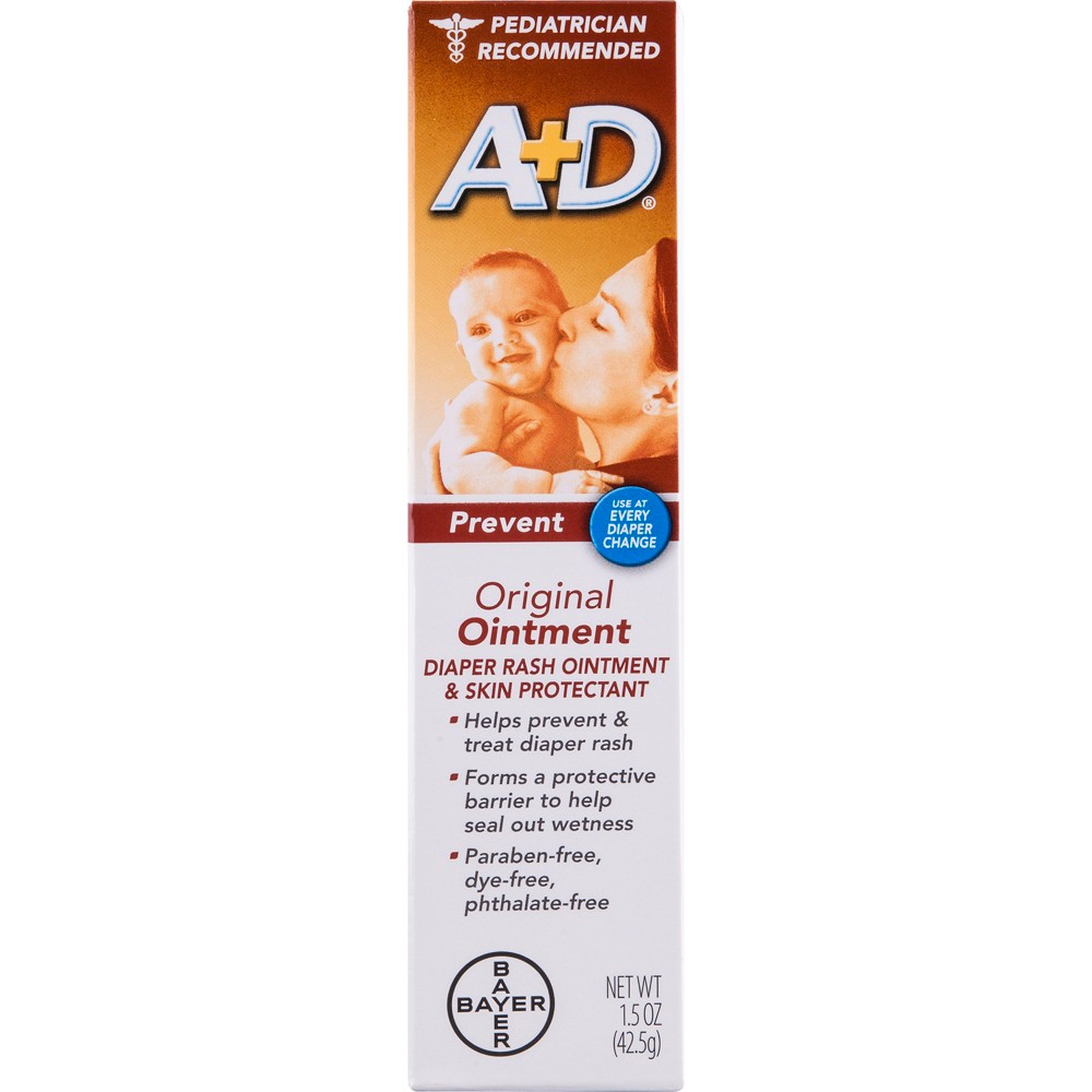 Image of A&d Original Diaper Rash Ointment - 1.5oz