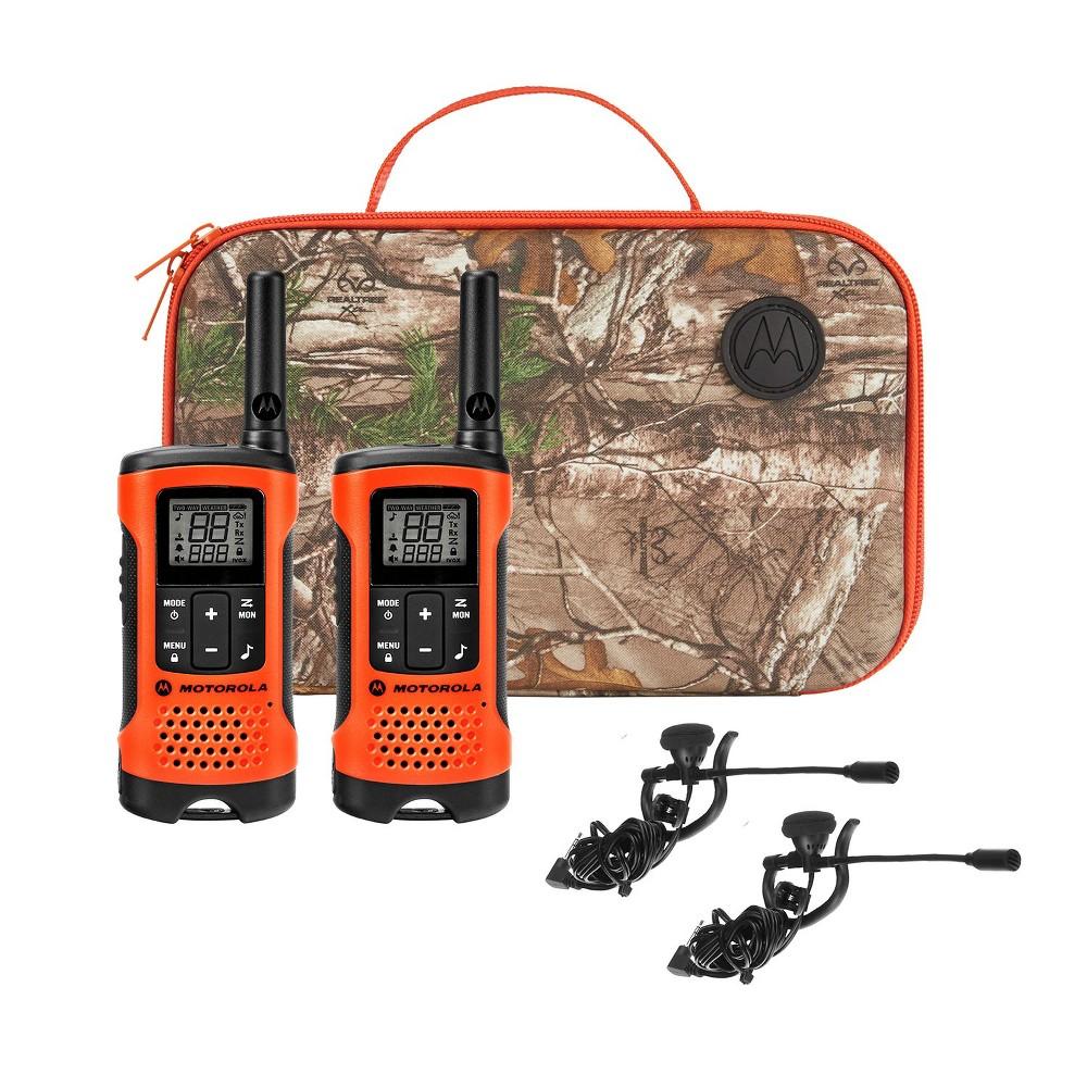 Motorola T265 Rechargeable Emergency Preparedness 2 Way Radio Orange