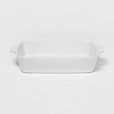 3qt Rectangular Baking Dish White - Threshold™