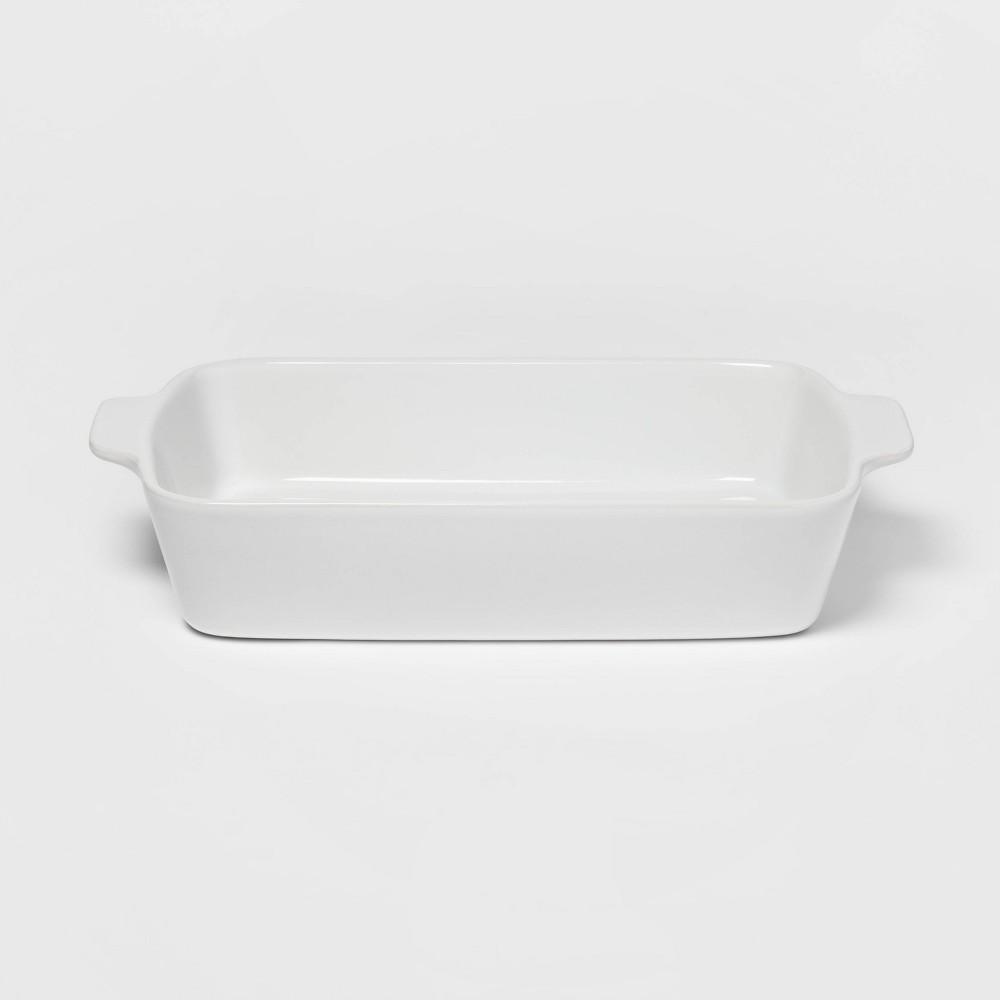 Image of 3qt Rectangular Baking Dish White - Threshold