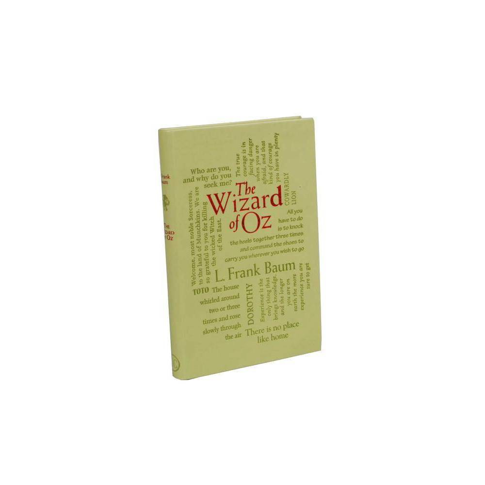 The Wonderful Wizard Of Oz Word Cloud Classics By L Frank Baum Paperback